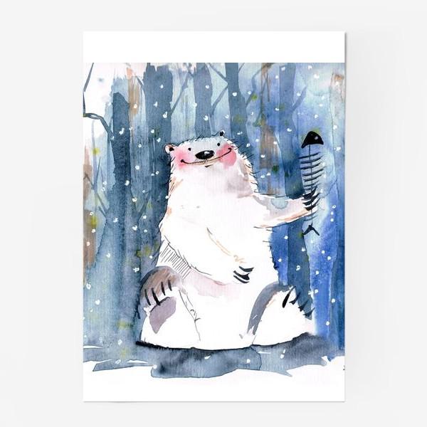 Постер «Мишка »