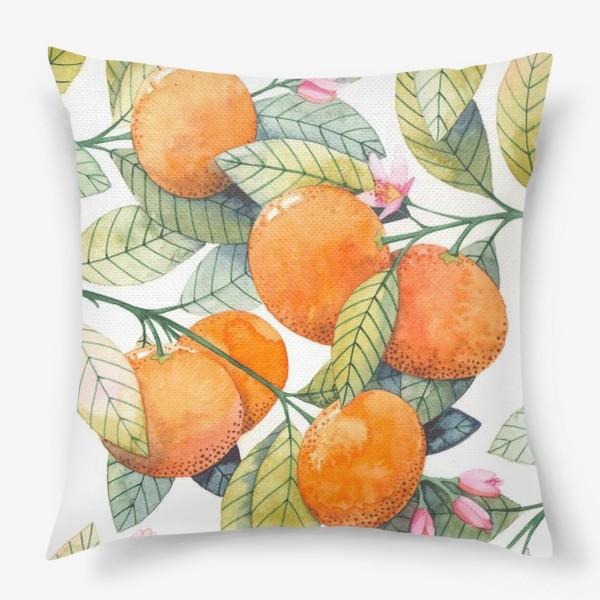 Подушка «мандаринки»