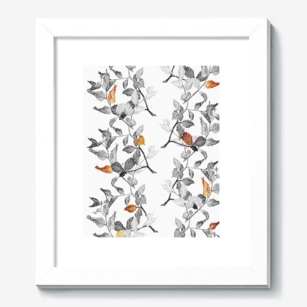 Картина «Осенние листья винтаж»