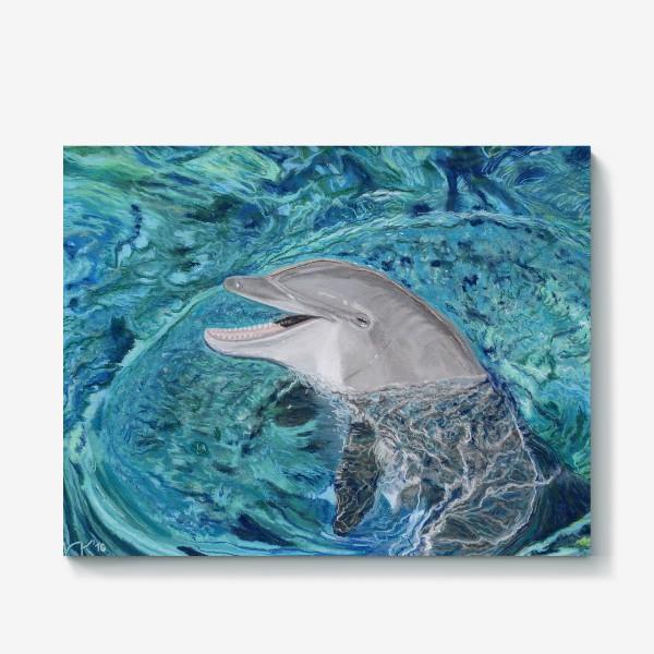 Холст «дельфин»