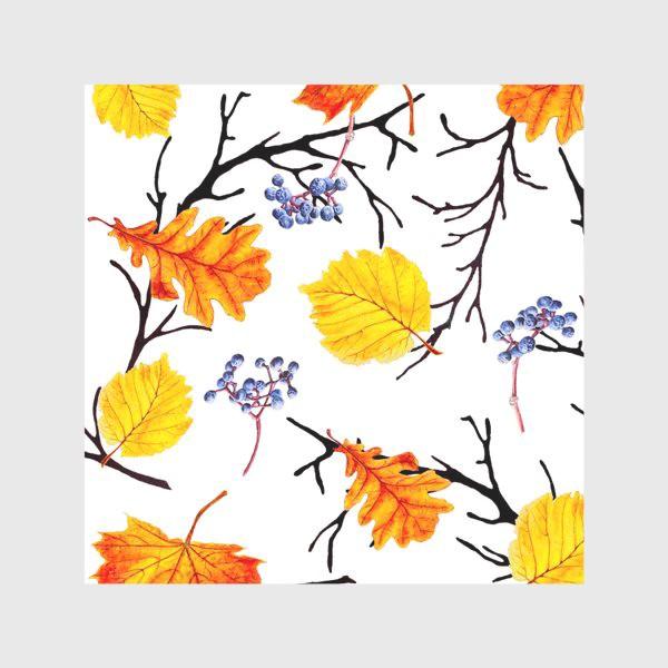 Скатерть «Осенние листья и дикий виноград»