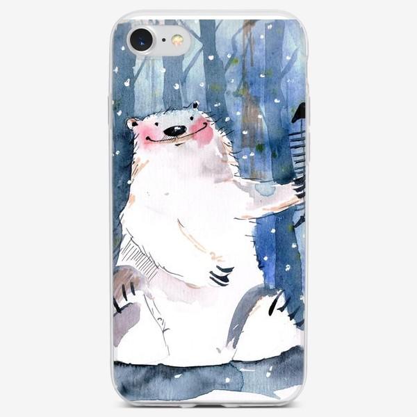Чехол iPhone «Мишка »
