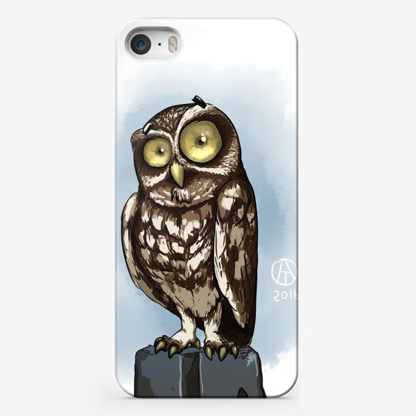 Чехол iPhone «Домовой сыч»