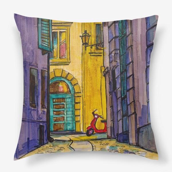 Подушка «У кого-то гости»