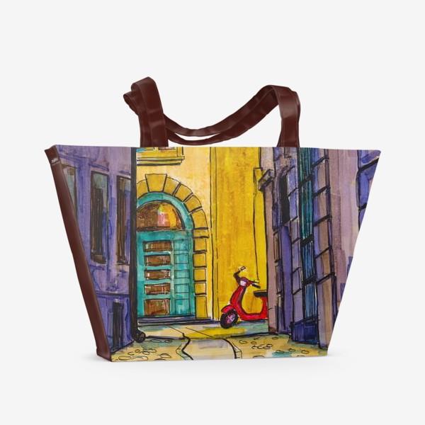 Пляжная сумка «У кого-то гости»