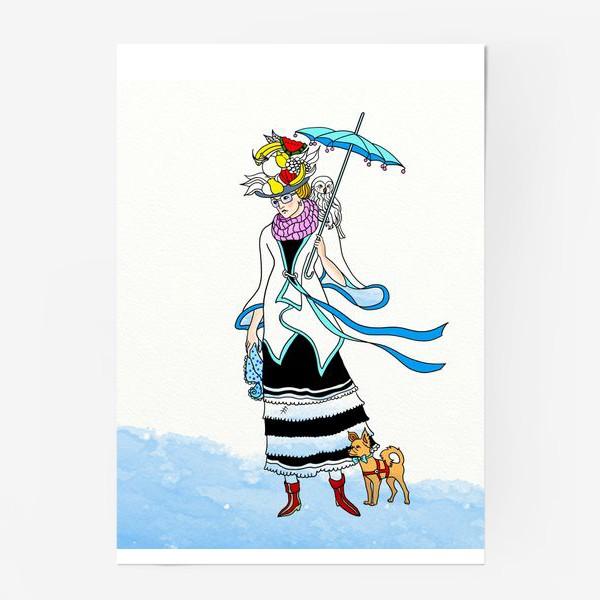 Постер «В ожидании зимы.»
