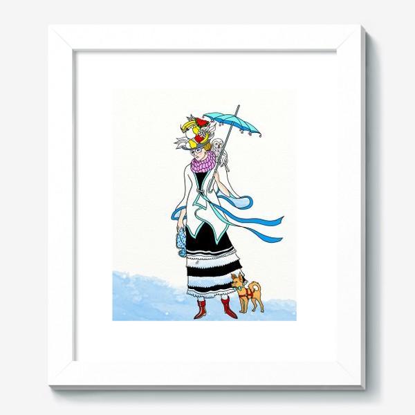 Картина «В ожидании зимы.»
