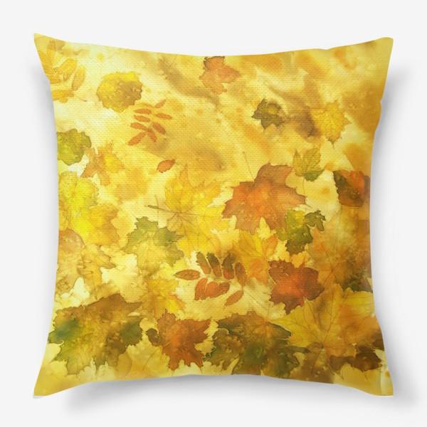 Подушка «Тихий листопад»