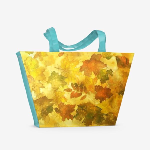Пляжная сумка «Тихий листопад»