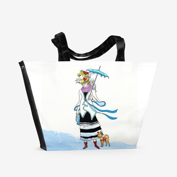 Пляжная сумка «В ожидании зимы.»