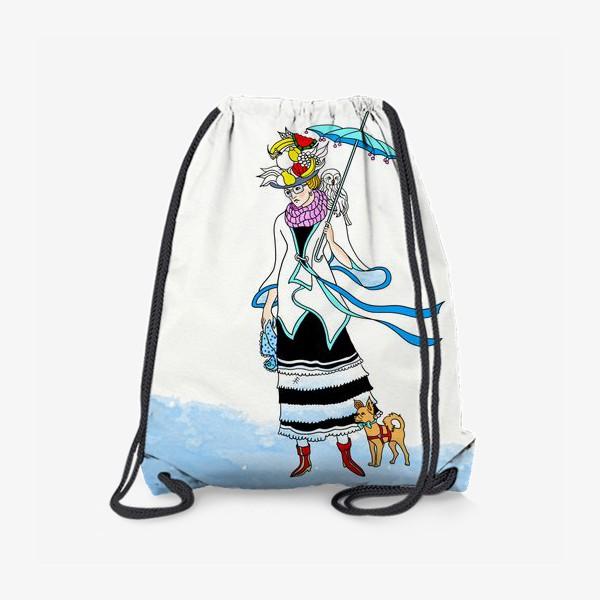 Рюкзак «В ожидании зимы.»