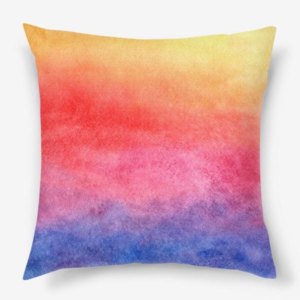 Подушка «Яркий закат»