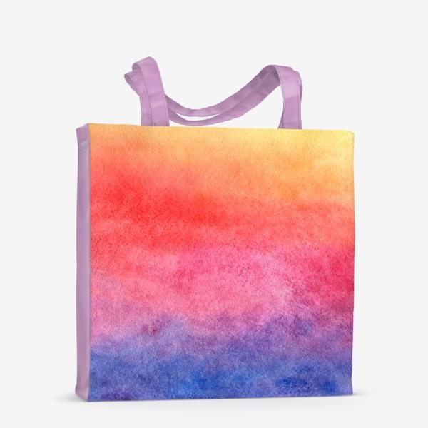 Сумка-шоппер «Яркий закат»