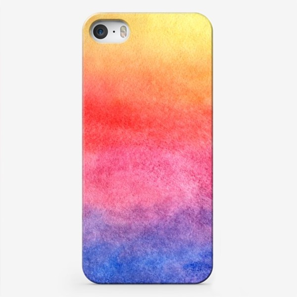 Чехол iPhone «Яркий закат»