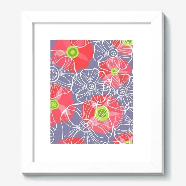 Картина «текстура милые цветочки»