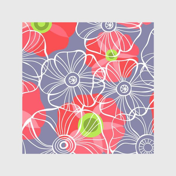 Шторы «текстура милые цветочки»