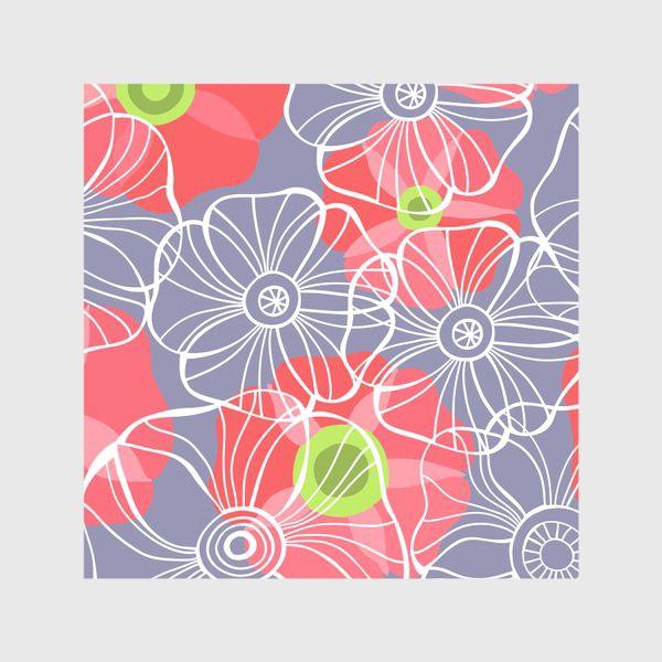 Скатерть «текстура милые цветочки»