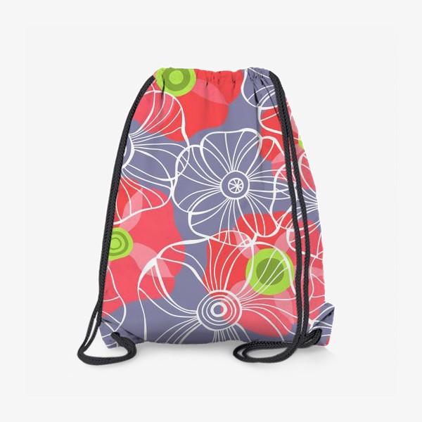 Рюкзак «текстура милые цветочки»