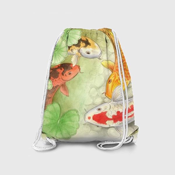 Рюкзак «Карпы кои»