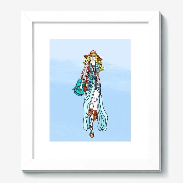 Картина «Hippie-coloring»