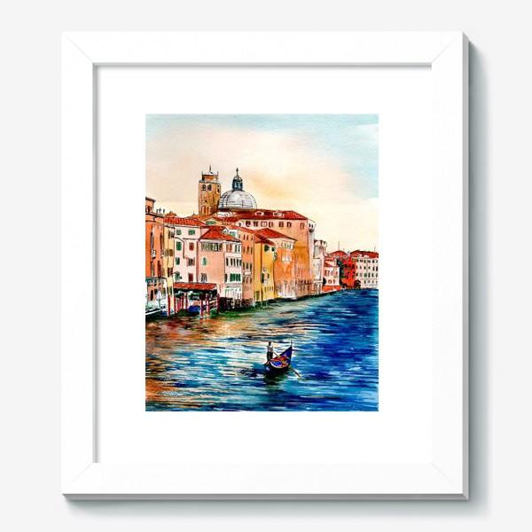 Картина «Венецианские каналы»