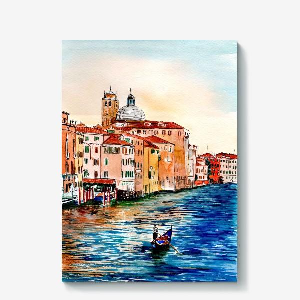 Холст «Венецианские каналы»
