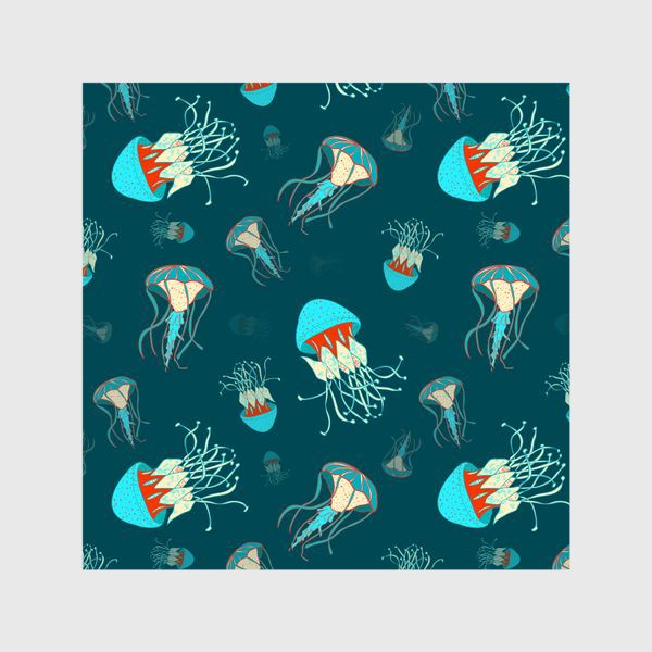 Шторы «Парящие медузы»