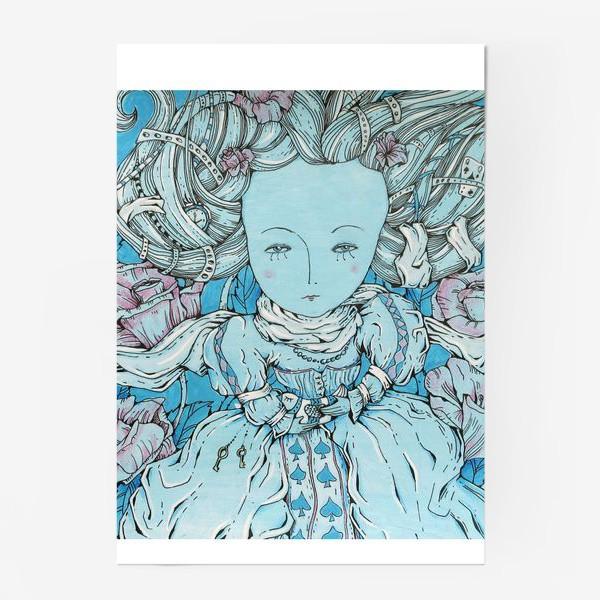 Постер «Королева из Алисы в стране чудес»