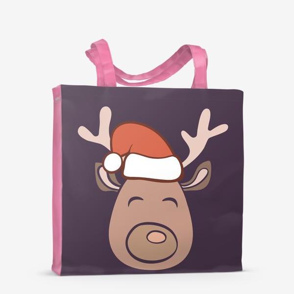 Сумка-шоппер «Рождественский олень»