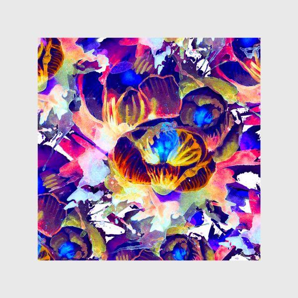 Шторы «Абстрактная акварельная текстура»