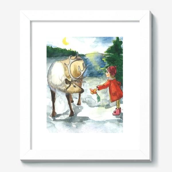 Картина «Winter kindness»