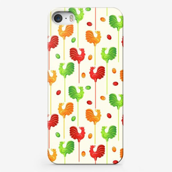 Чехол iPhone «Леденцовые Петушки»