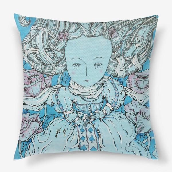 Подушка «Королева из Алисы в стране чудес»