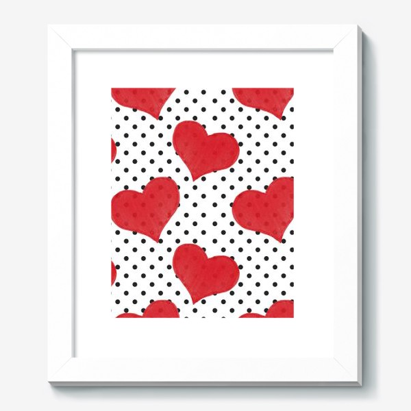 Картина «Red Hearts»