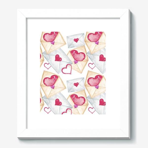 Картина «Конверт с сердцем»