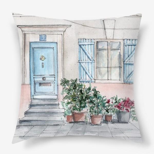 Подушка «Париж»
