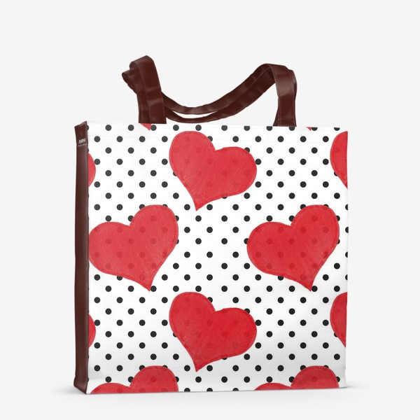 Сумка-шоппер «Red Hearts»