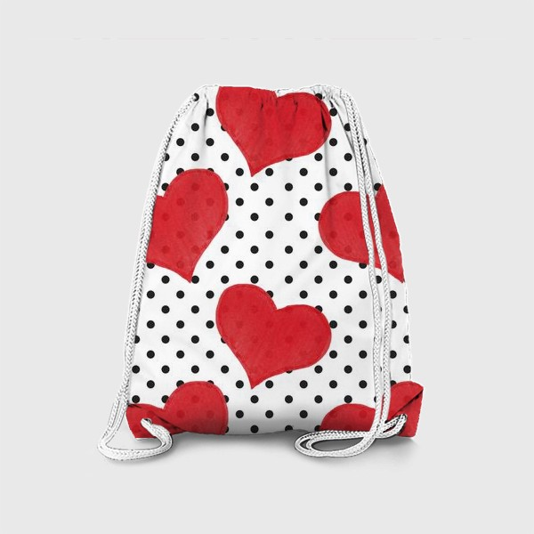 Рюкзак «Red Hearts»