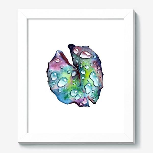 Картина «Флора 2.0. Лист лотоса»