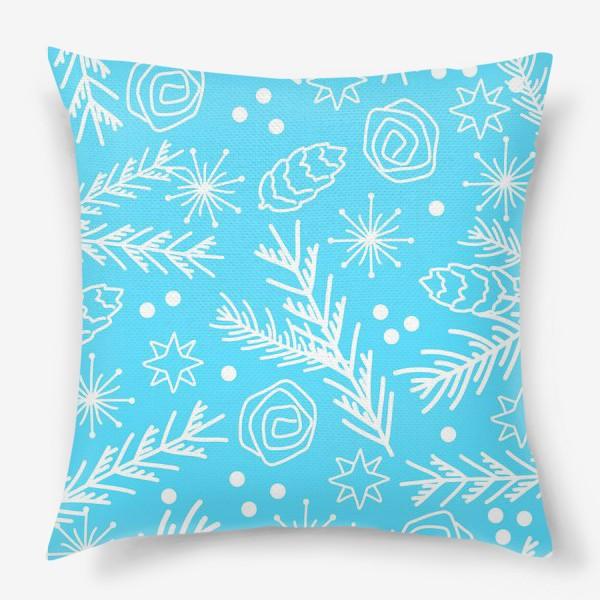 Подушка «Зимний узор»
