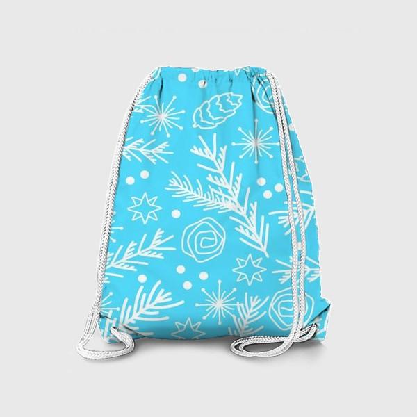 Рюкзак «Зимний узор»