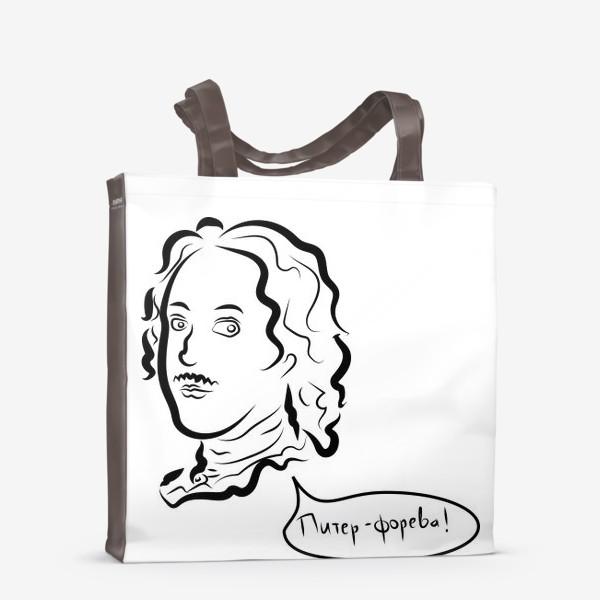 Сумка-шоппер «Питер форева»