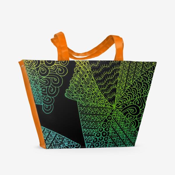 Пляжная сумка «психодел»