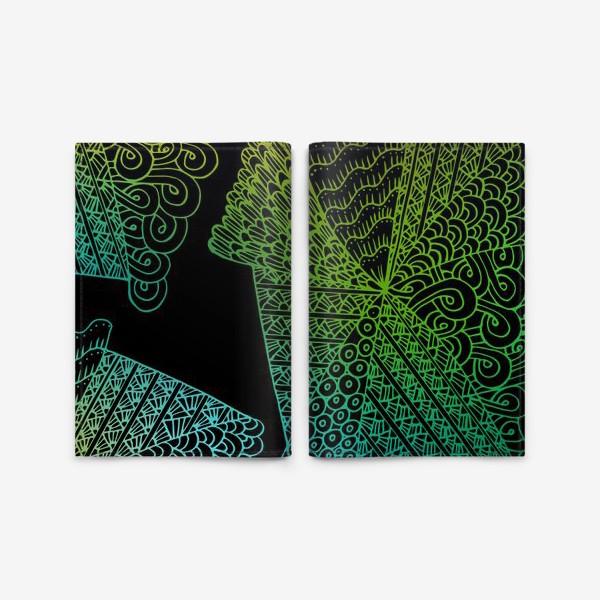 Обложка для паспорта «психодел»