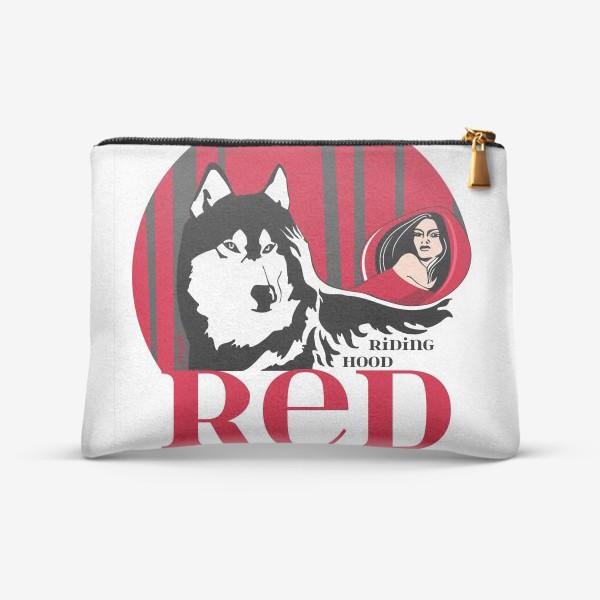 Косметичка «Волк и Красная шапочка»