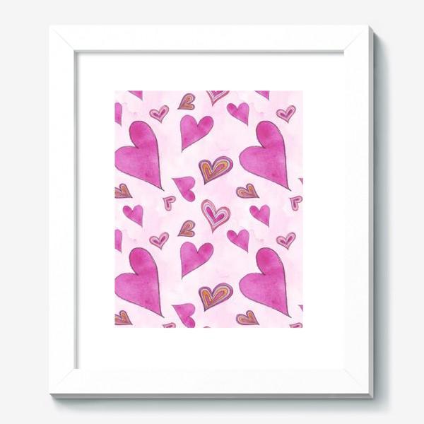 Картина «Hearts Pink»