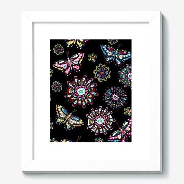 Картина «Бабочки в саду»