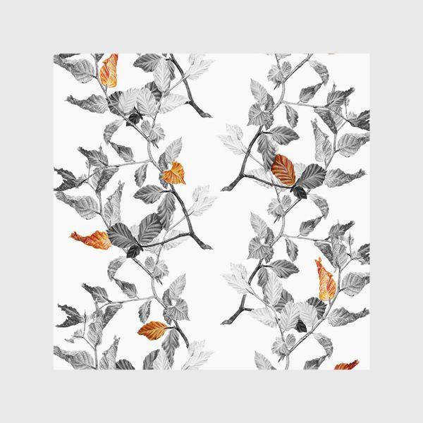 Шторы «Осенние листья винтаж»