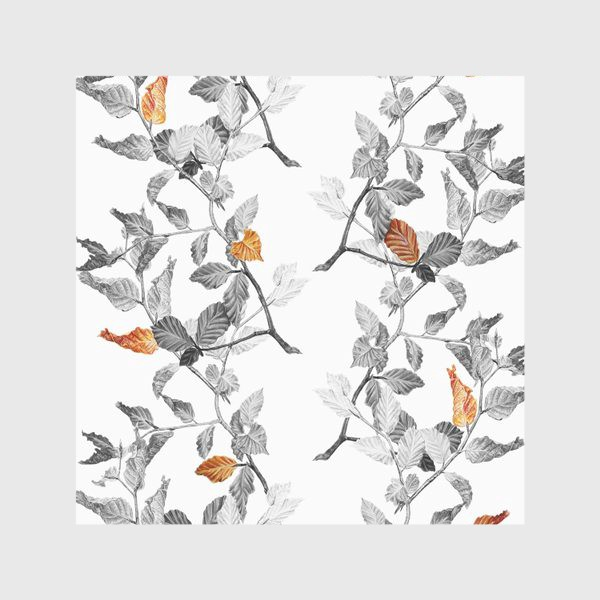 Скатерть «Осенние листья винтаж»