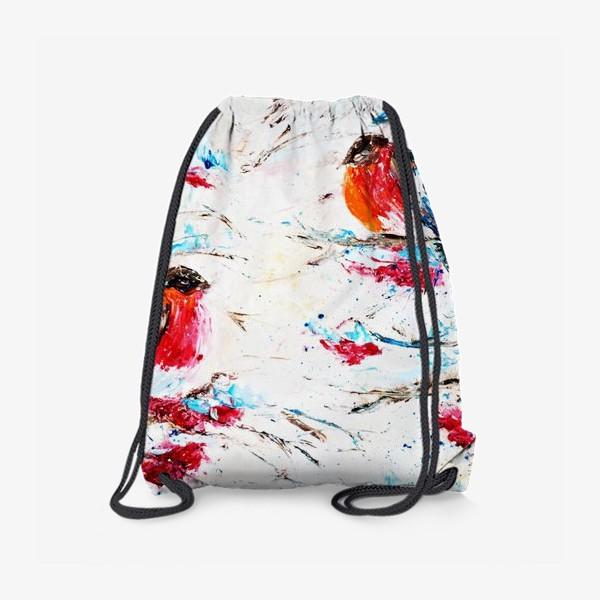 Рюкзак «Снегири»
